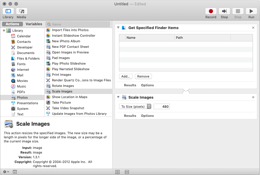 Declutter and Organize Your Mac (Instantly) with Automator